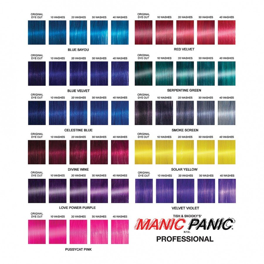 Manic Panic Professional Color Hair Colour Dreams