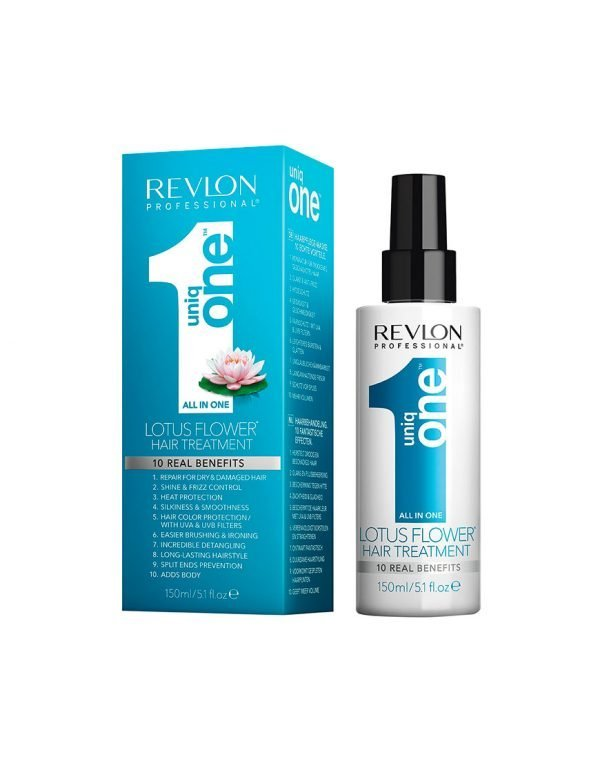 Revlon UNIQ ONE Lotus Flower all in one hair treatment pack