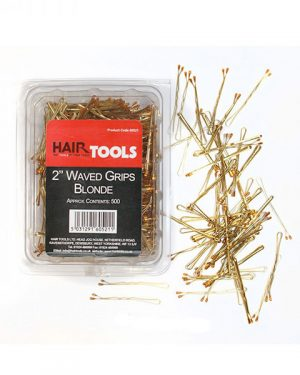 "2"" Waved Grips Blonde (Box Of 500)"