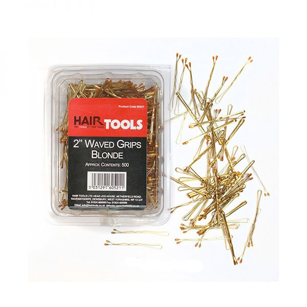 """2"""" Waved Grips Blonde (Box Of 500)"""